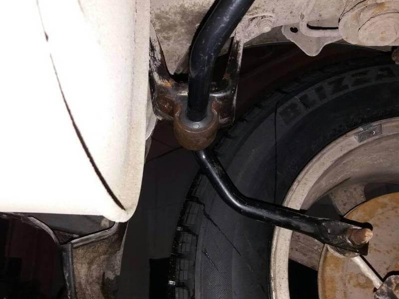 Vtulka zadnego stabilizatora Subaru Forester
